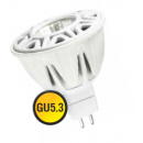 Лампа LED 8W GU5,3 220V MR16 холодный белый