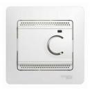 Термостат теплого пола с датчиком 10А белый Schneider Electric Glossa