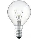 Лампа накаливания P45 25W Е14 220V  шар прозрачный