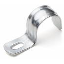 Скоба 25-26мм круглая металлическая