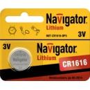 1616 Navigator CR1616 3v литиевая
