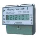 Счетчик Меркурий 201.8 5-80А 220В электрон. 1-тариф.