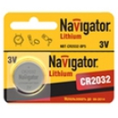 2032 Navigator CR2032 3v литиевая