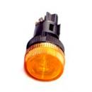 Лампа сигнальная ENR-22 желтый неон 220v IEK