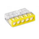 Клеммник безвинтовой без пасты 2273-205 5x(0.5-2.5) WAGO