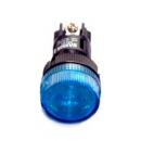 Лампа сигнальная ENS-22 синяя подсветка 220v EKF