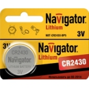 2430 Navigator CR2430 3v литиевая