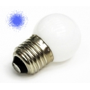 Лампа LED 1W E27 220V синяя