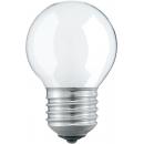 Лампа накаливания P45 60W Е27 220V шар матовый
