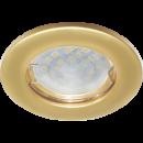 Светильник DL90 встраиваемый перламутровое золото Ecola