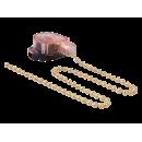 Выключатель для бра с цепочкой 300мм золото