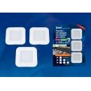 Комплект LED-светильников 3x6w 4200k бесконтактный выкл. 220v IP20 Uniel