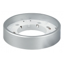 Светильник GX53 HP накладной серебро