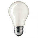 Лампа накаливания A55 60W Е27 220V матовая