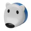 """Ночник детский с датчиком освещенности NN-603 """"Белый мишка"""" 1LED 0.5w белый Эра"""