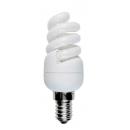 Лампа энергосберегающая 7W E14 теплый свет