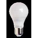Лампа LED 5W E27 220V шар холодный белый Космос