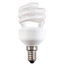 Лампа энергосберегающая 15W E14 теплый свет