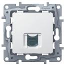 Розетка компьютерная RJ45 белая Legrand Etika