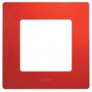 Рамка на 1 пост Красная Legrand Etika
