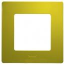 Рамка на 1 пост Зеленый папоротник Legrand Etika