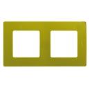 Рамка на 2 поста Зеленый папоротник Legrand Etika