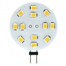 Лампа LED 3w G4 12v холодный белый Feron