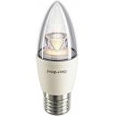 Лампа LED 8W E27 220V С37 теплый белый Geniled