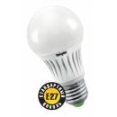 Лампа LED 8W E27 220V A55 теплый белый