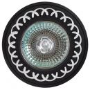 Светильник FT9944 черный с алмазной нарезкой
