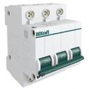 Автоматический выключатель ВА-101 3п 40А (С) 4,5kA DEKraft