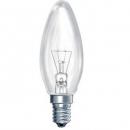 Лампа накаливания 40W Е14 220V свеча