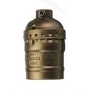 Патрон Е27 подвесной декоративный бронза Vintage Uniel