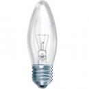 Лампа накаливания 60W Е27 220V свеча