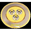 Светильник FT903 SNG сатин-никель/золото