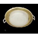 Светильник GX53 H4 встраиваемый золото Ecola