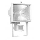 Прожектор галогенный с датчиком движения 150w белый IP44