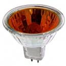 Лампа галогенная 50W GU5.3 220V MR16 красная