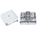 Коробка клеммная для электроплиты 40A KLK-5S 102х90х37 IP44 белая Schneider Electric