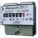 Счетчик Меркурий 201.7 5-60А 220В эл.механич. 1-тариф.