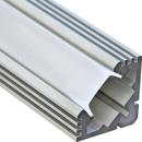 Алюминиевый профиль PAL1919 19x19 (длина 2м) угловой без рассеивателя