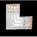Гибкая соед. плата L-обр. 4-х контактная 5050 10mm Ecola