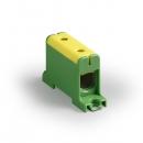 Клемма вводная силовая КВС 16-95мм² желто-зеленая
