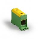 Клемма вводная силовая КВС 35-150мм² желто-зеленая