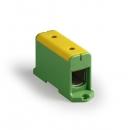 Клемма вводная силовая КВС 35-240мм² желто-зеленая