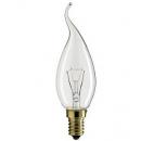 Лампа накаливания Flame 40W E14 свеча на ветру