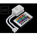 Контроллер для светодиодной ленты RGB 12v 72w с ИК-пультом Ecola