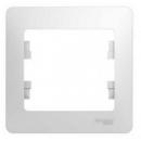 Рамка на 1 пост белая Schneider Electric Glossa