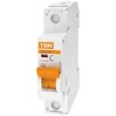Автоматический выключатель TDM ВА47-29 1п 50А (C) 4.5кА