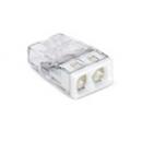 Клеммник безвинтовой с пастой 2273-242 2x(0.5-2.5) WAGO